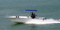 2009 - Allmand - 26 Express Center Consol Open Fisherman