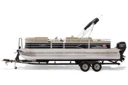 2019 Sun Tracker Party Barge 22 RF DLX Business Spur MI