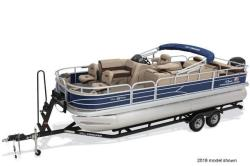 2019 Sun Tracker Fishin' Barge 22 DLX Business Spur MI