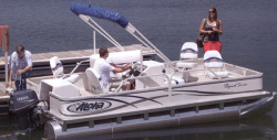 2014 - Aloha Pontoon Boats - 180 Fish N Party