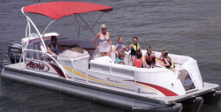 2014 - Aloha Pontoon Boats - Paradise Series 250