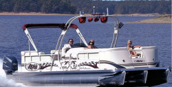 2014 - Aloha Pontoon Boats - Paradise Series Twin X-32