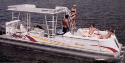 2014 - Aloha Pontoon Boats - Paradise Series 290 Sundeck