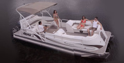 2014 - Aloha Pontoon Boats - Paradise 250 Entertainment Interior