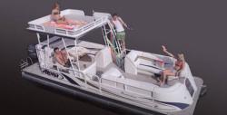 2014 - Aloha Pontoon Boats - Paradise Series 250 Sundeck