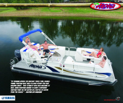 2010 - Aloha Pontoon Boats - Paradise Series 220