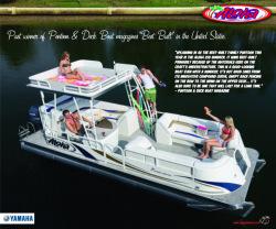 2010 - Aloha Pontoon Boats - Paradise Series 250 Sundeck