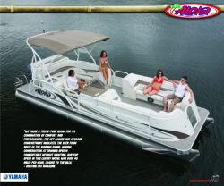 2010 - Aloha Pontoon Boats - Paradise 250 Entertainment Interior