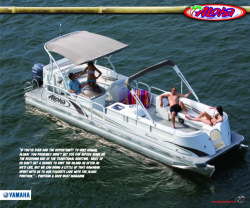 2010 - Aloha Pontoon Boats - Paradise Series 290