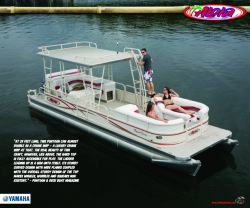 2010 - Aloha Pontoon Boats - Tropical Series 290 Sundeck