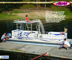 2010 - Aloha Pontoon Boats - Tropical Series 250 Sundeck