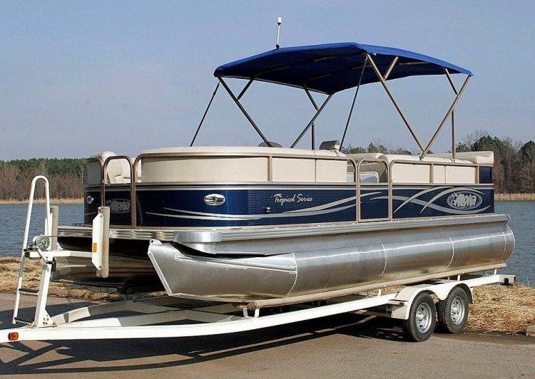 Research 2012 Aloha Pontoon Boats 210 Tropical Series
