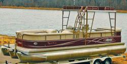 2013 - Aloha Pontoon Boats - 250 Sundeck Triple Tunnel 50th