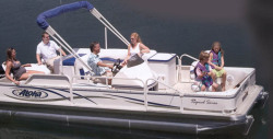 2017 - Aloha Pontoon Boats - 210 Fish N Party