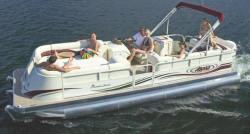 Aloha Pontoon Boats PS 250 Entertainment Pontoon Boat