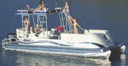 Aloha Pontoon Boats PS 250 Sundeck Pontoon Boat