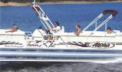 Aloha Pontoon Boats PS Twin X-32 Pontoon Boat