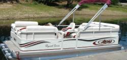 Aloha Pontoon Boats TS 178 Triple Tunnel Pontoon Boat