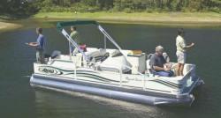 Aloha Pontoon Boats TS 210 Fish N Party Pontoon Boat