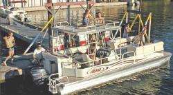 Aloha Pontoon Boats TS 250 Sundeck Pontoon Boat