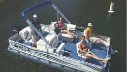 Aloha Pontoon Boats TS 180 Fish N Party Pontoon Boat