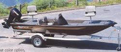 Aloha Pontoon Boats B-16DS Bass Boat