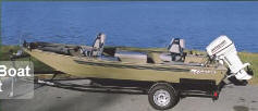Aloha Pontoon Boats C-16DS Crappie Multi-Species Fishing Boat