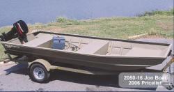 Aloha Pontoon Boats 2050-16 Jon Boat
