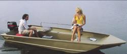 Aloha Pontoon Boats BW-50MV Brushwacker Jon Boat