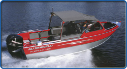 2009 - Alumaweld Boats -  Formula Vee Outboard 24-