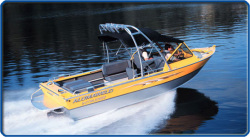 2009 - Alumaweld Boats - Intruder Sterndrive 20-