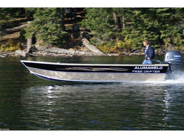 Research 2011 Alumaweld Boats Free Drifter 20 On