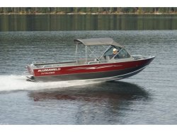 2012 - Alumaweld Boats - Intruder Sterndrive 22- SD