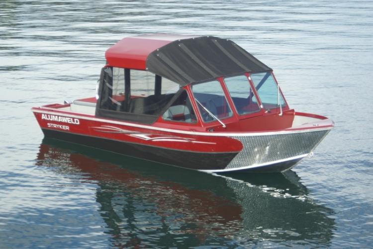 Research 2013 Alumaweld Boats Stryker Inboard V6 On