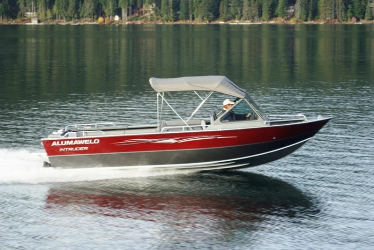 Research Alumaweld Boats Intruder Inboard 22 V8 On