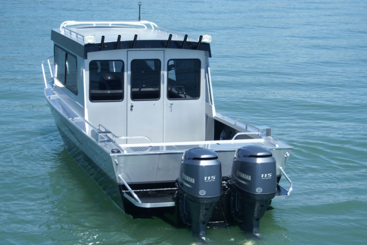 Smoker Craft Boats >> Research 2013 - Alumaweld Boats - Pacific 27- on iboats.com