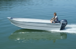 2015 - Alumaweld Boats - Sport Skiff 16