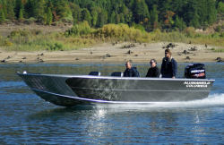2016 - Alumaweld Boats - Columbia 25