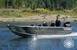 2020 - Alumaweld Boats - Columbia 23