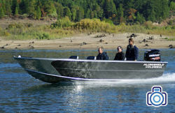 2020 - Alumaweld Boats - Columbia 25