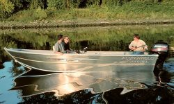 Alumaweld Boats Super Vee LS 17 Multi-Species Fishing Boat