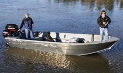 Alumaweld Boats Free Drifter 17 Multi-Species Fishing Boat