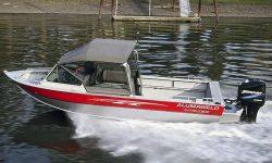 Alumaweld Boats Intruder 18 Outboard Multi-Species Fishing Boat