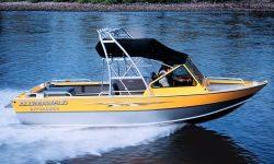 Alumaweld Boats Intruder Sterndrive 22 Fishing Boat