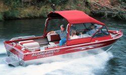 Alumaweld Boats Intruder 18 Sportjet Multi-Species Fishing Boat
