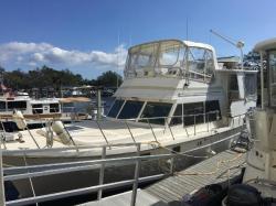 1985 Heritage East Nova 40 Sundeck Trawler Palmetto FL
