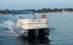 Godfrey Marine AP 220 RE - 4 Gate Pontoon Boat