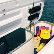 Godfrey Marine AP 240 RE - 4 Gate Pontoon Boat