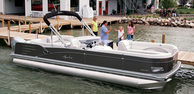 Research 2015 Avalon Pontoons 27 Catalina Entertainer