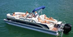 2013 - Avalon Pontoons - C Rear Lounge 24